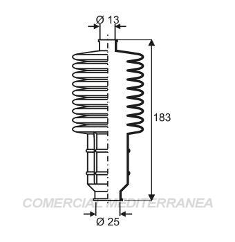 FUELLES DE DIRECCION JAIME SERRAT -  FIAT 128  (...91) - 147  (85-98) - DUNA